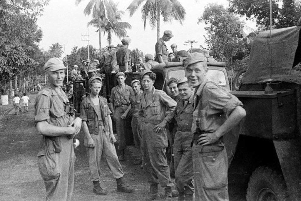 Militairen in Nederlands-Indië